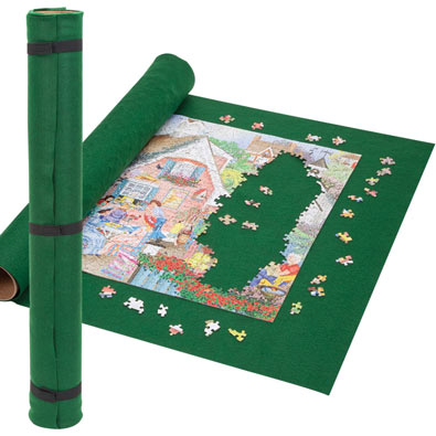 Portable Felt Jigsaw Roll