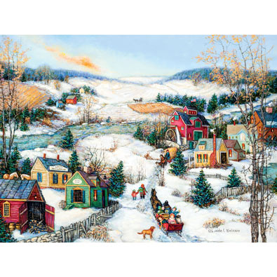 The Sleigh Ride 1000 Piece Jigsaw Puzzle