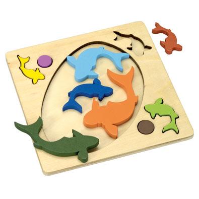 Fish Pond Puzzle