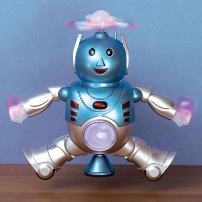 Happy Dancing Light-Up Robot