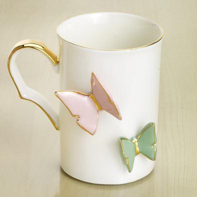Floating Butterflies Mug