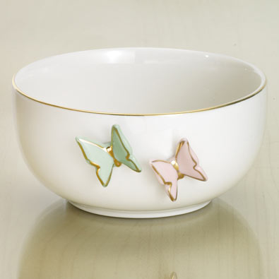 Floating Butterflies Bowl