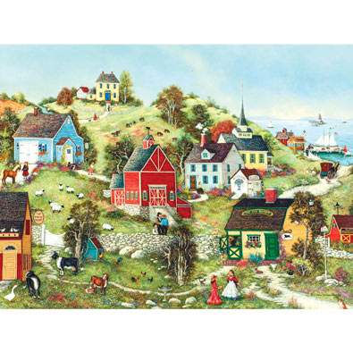 Stonehill Village 300 Large Piece Jigsaw Puzzle