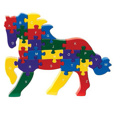 ABC Horse Puzzle
