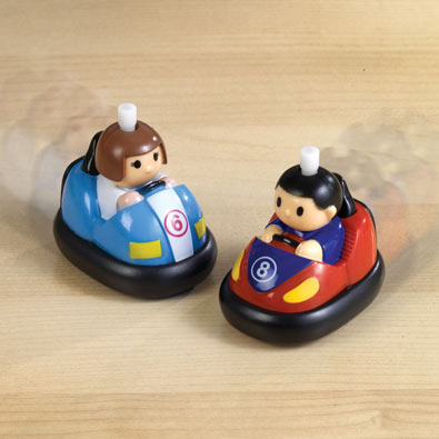 Wind-Up Bumper Cars