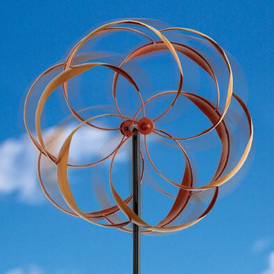 Flower Wind Spinner