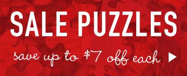 $5 & $7 Off Jigsaw Sale