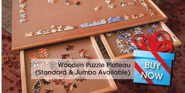 Standard Wooden Puzzle Plateau