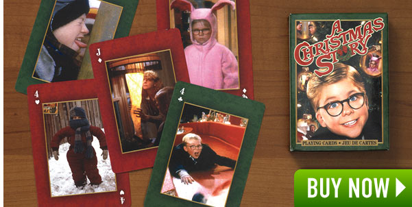 A Christmas Story Playing Cards