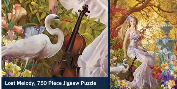 Lost Melody 750 Piece Jigsaw Puzzle
