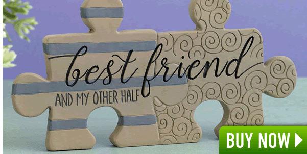 Best Friend Plaque