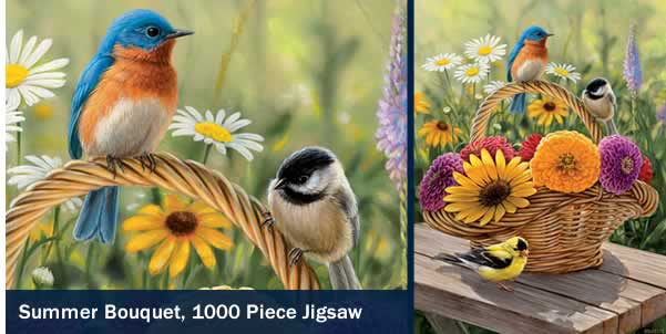 Summer Bouquet 1000 Piece Jigsaw Puzzle