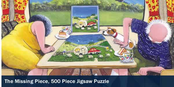 The Missing Piece 500 Piece Jigsaw Puzzle