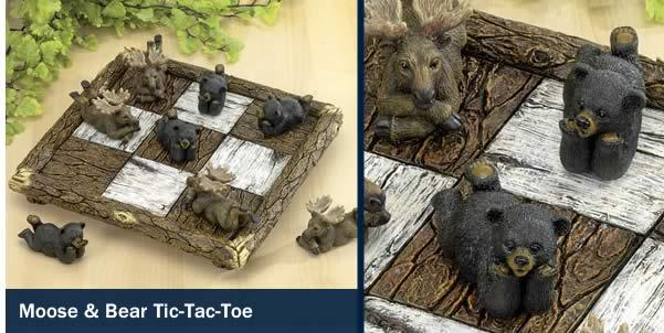 Moose & Bear Tic-Tac-Toe