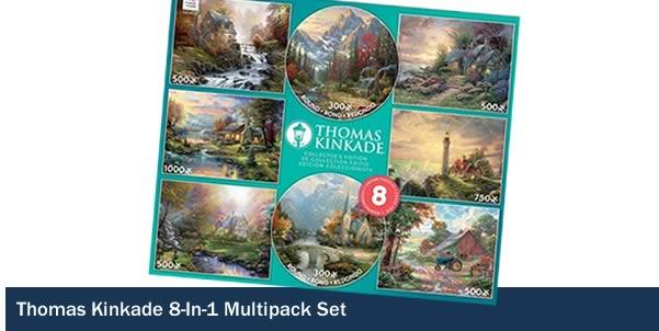 Thomas Kinkade 8 in 1 Multipack Set
