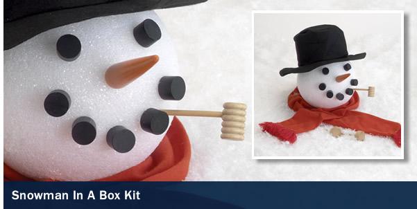 Snowman in a Box Kit
