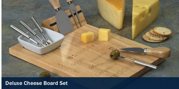 Deluxe Cheese Board Set
