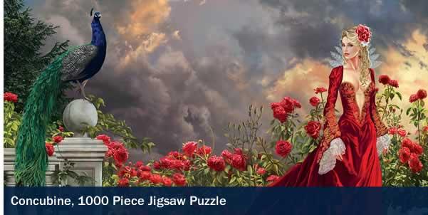 Concubine 1000 Piece Jigsaw Puzzle