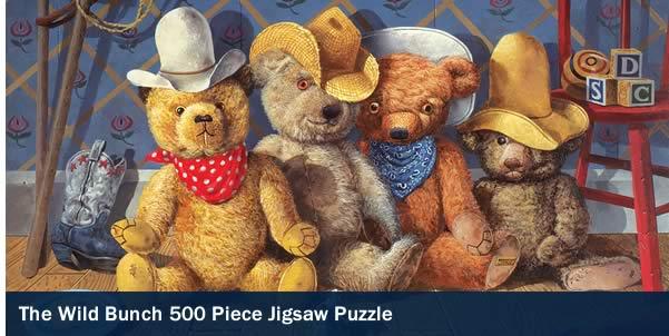 The Wild Bunch 500 Piece Western Jigsaw Puzzle
