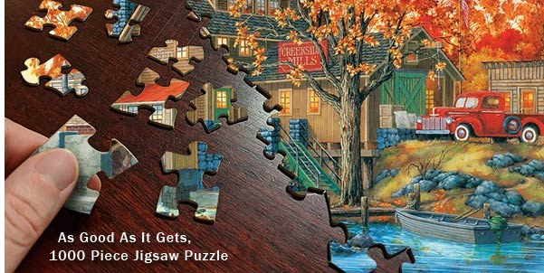 As Good as it Gets 1000 Piece Jigsaw Puzzle