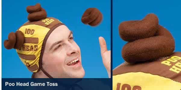Poo Head Game Toss