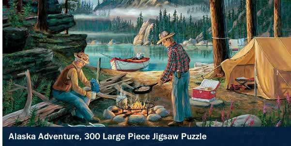 Alaska Adventure 300 Large Piece Jigsaw Puzzle