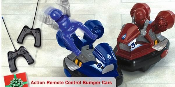 Action Remote Control Bumper Cars