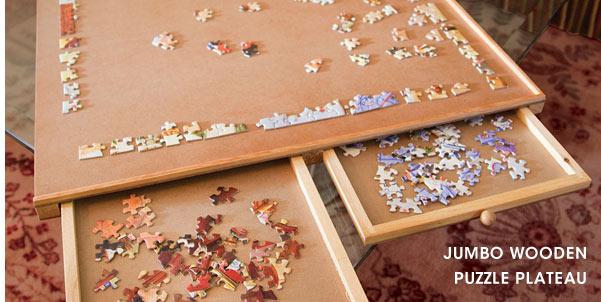 Jumbo Wooden Puzzle Plateau