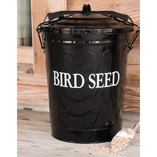 Seed Container with Scoop