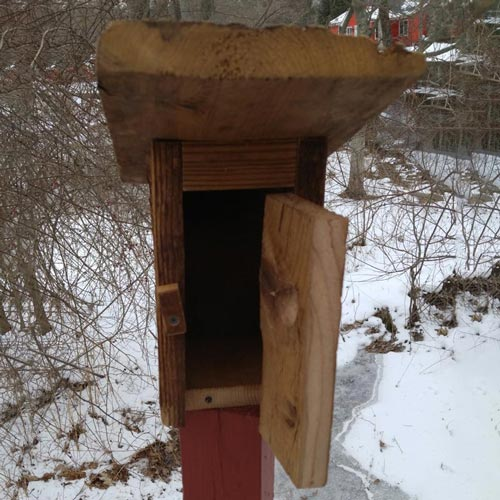 Chester County Outhouse Birdhouse