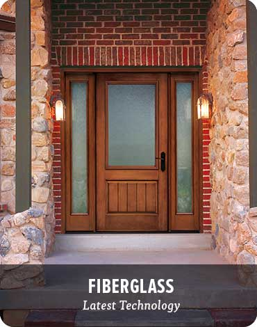 exterior doors - Exterior Fiberglass Doors
