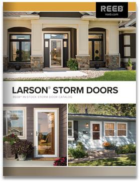 Reeb Larson Storm Doors Catalog