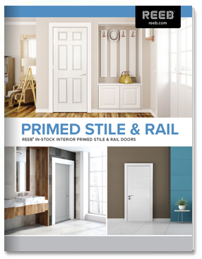 Reeb Interior Primed Stile and Rail