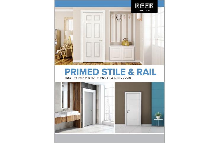 Reeb Interior Primed Stile and Rail Door Catalog