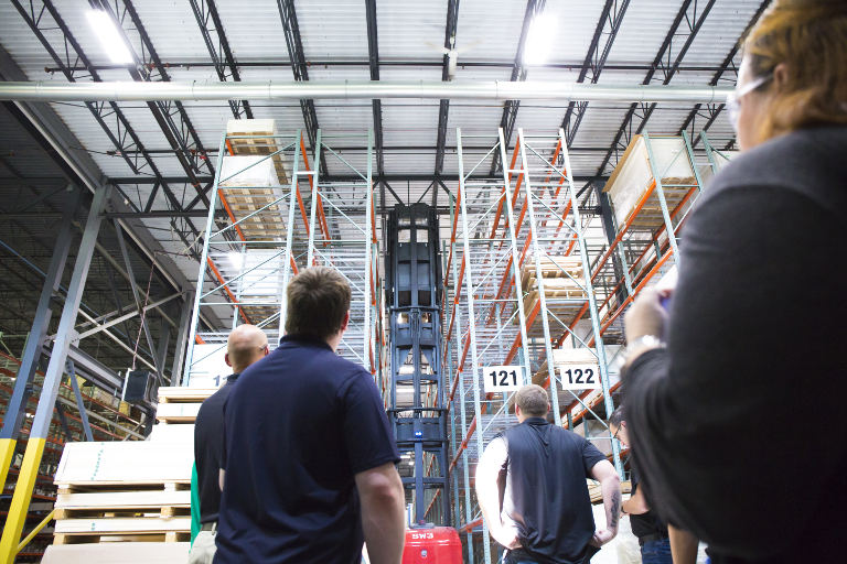 Reeb College Warehouse Tour