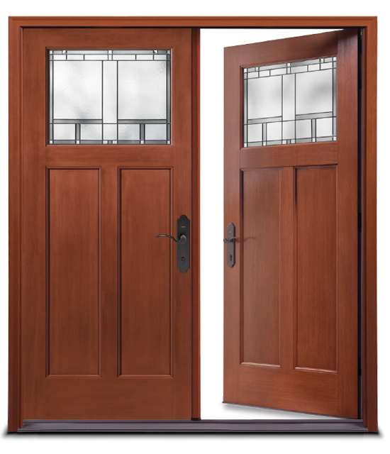 Double Exterior Door Unit