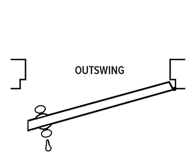 Outswing Exterior Door Unit