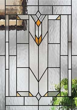 Decorative Glass Door Lite
