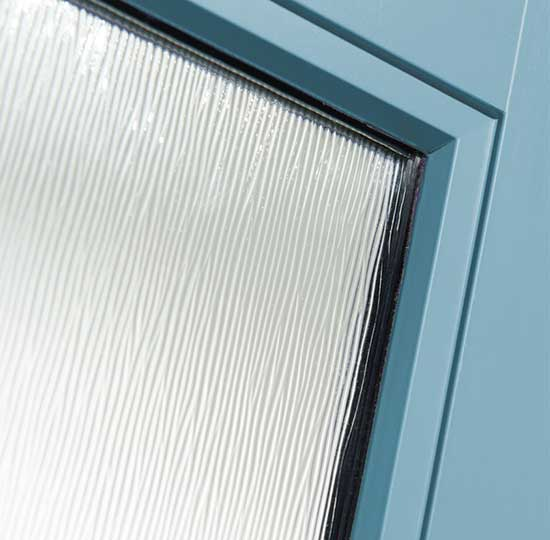 Flush Glazed Door Lite