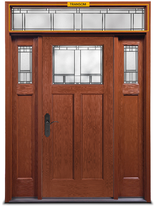 Door System with Transom