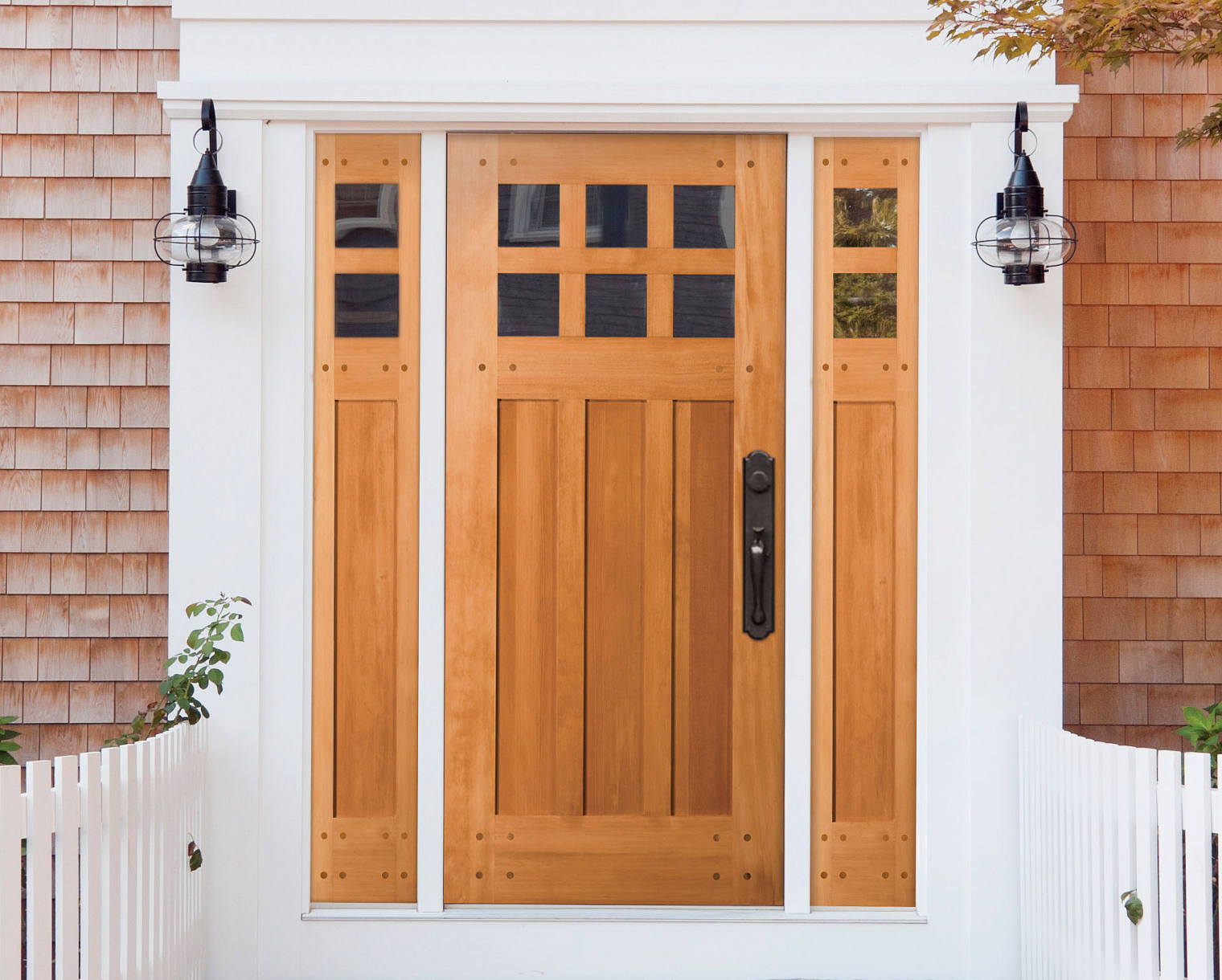 Exterior Wood Door Unit