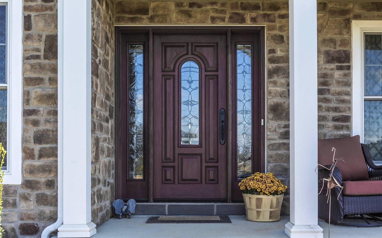 Reeb finish prismaguard reeb learning center for Reeb fiberglass exterior doors