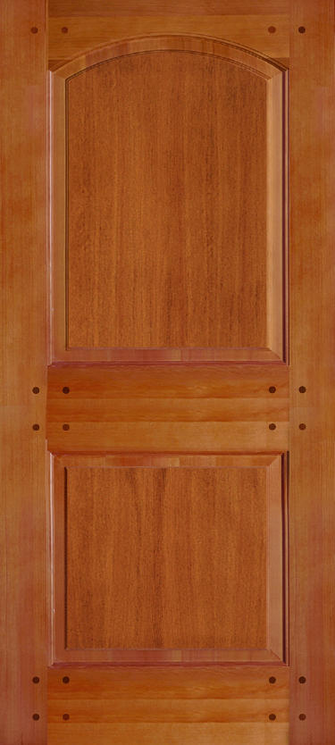 Simpson Nantucket Collection Douglas Fir Door.