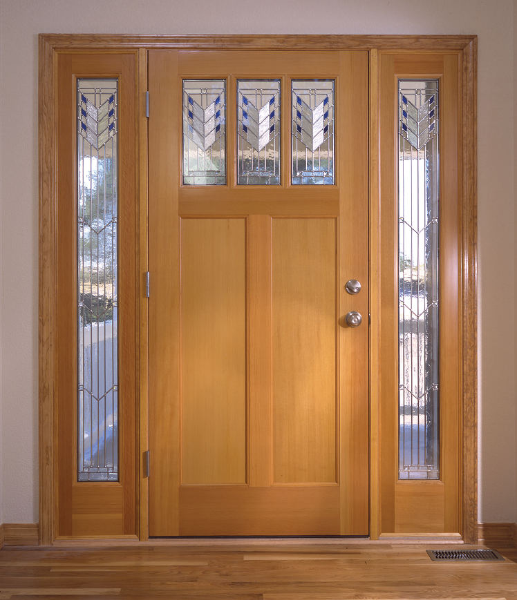 Simspon Performance Series Door with Sidelites.