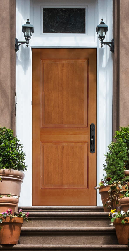 Simpson Metropolitan Wood Front Door.