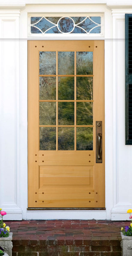 Simpson Nantucket Wood Front Door.
