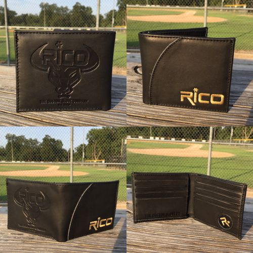 Rico Glove Leather Wallet Black 2nd style