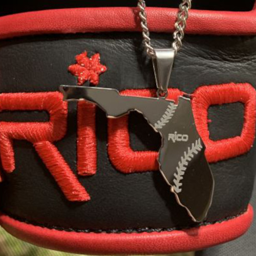 Florida Rico Baseball Necklace