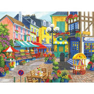 French Market 300 Large Piece Jigsaw Puzzle