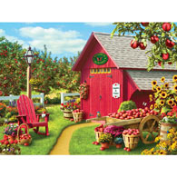 Monarch Orchard 300 Large Piece Jigsaw Puzzle
